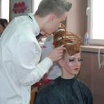 fryzura konkursowa